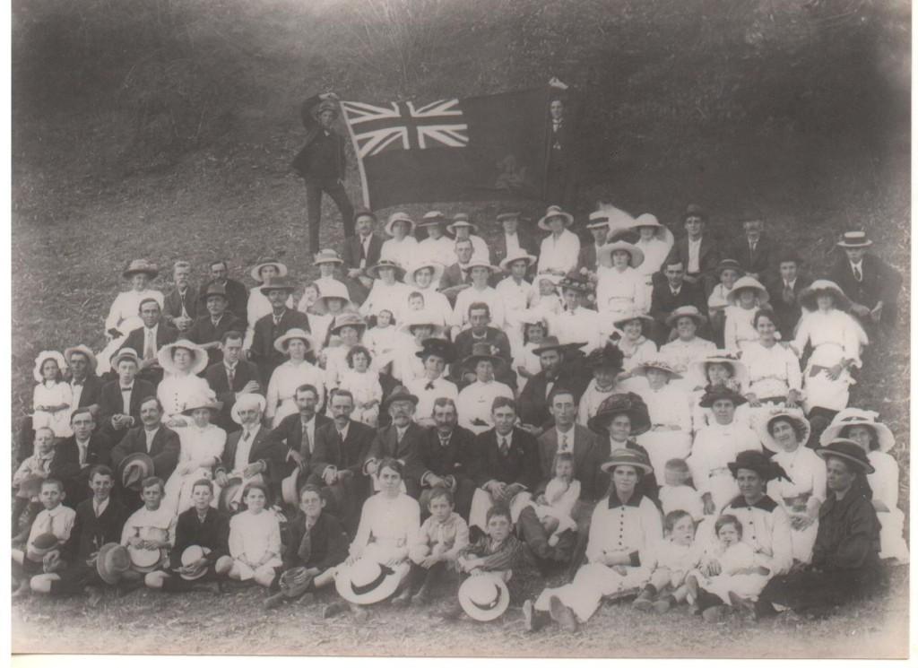 Manx Society picnic 1915
